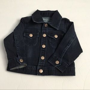 Wrangler Baby Boy Denim Jean Jacket Snap Buttons